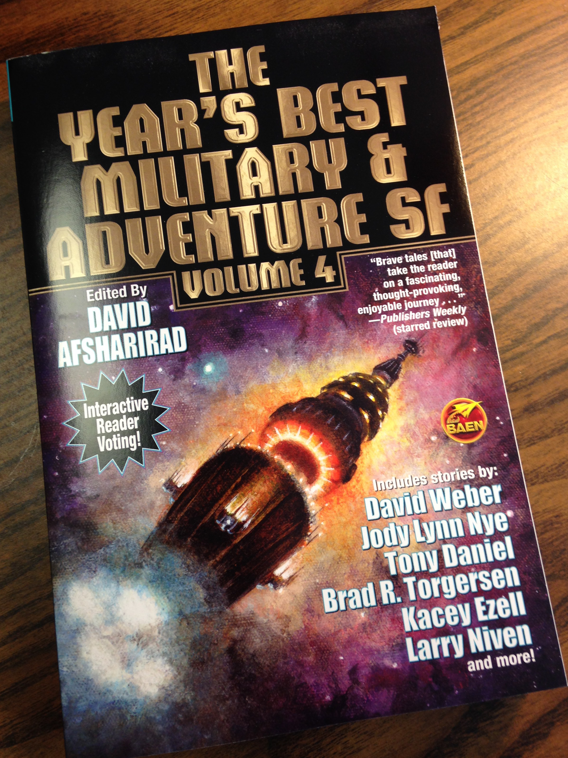 THE YEAR'S BEST MILITARY AND ADVENTURE SF VOLUME 4